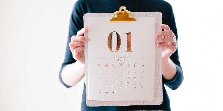 Calendar In Hand