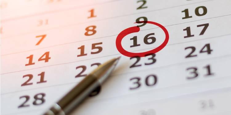 Date Sheet Calendar