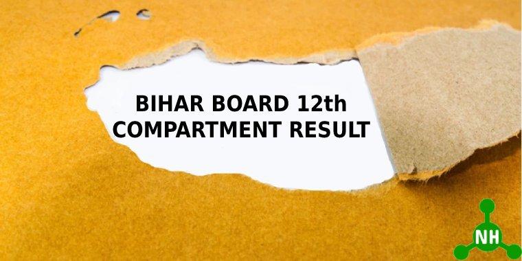 Bihar Board 12th Compartment Result