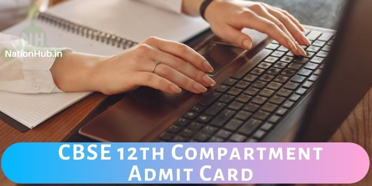 CBSE 12th Compartment admit card