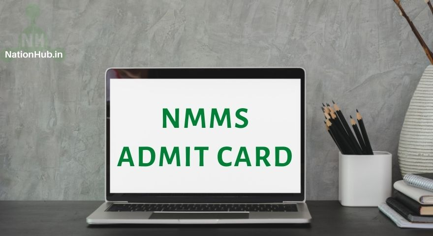 NMMS admit card featured image