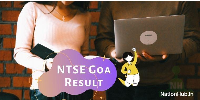 NTSE Goa Result