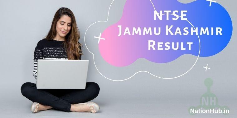 NTSE Jammu & Kashmir Result
