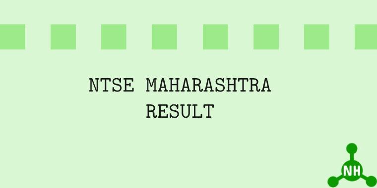 NTSE Maharashtra Result Feat image