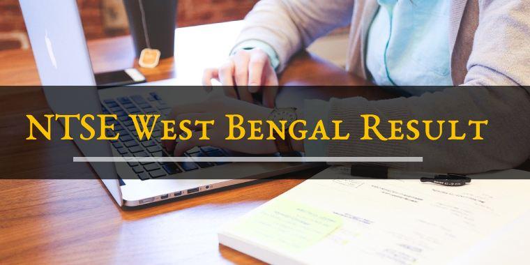 NTSE West Bengal Result