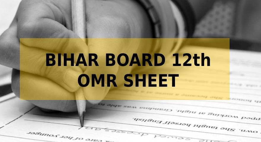 Bihar board 12th omr sheet featured image