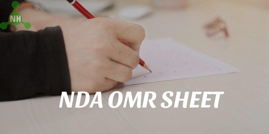 NDA OMR Sheet Featured Image