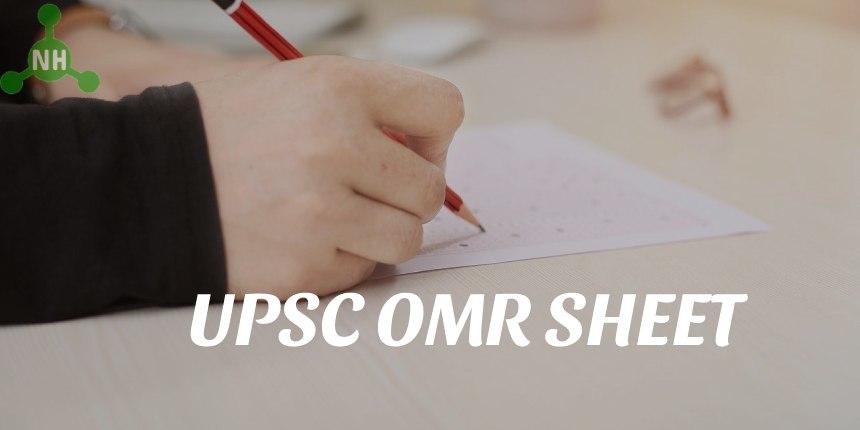 UPSC OMR Sheet Featured Image