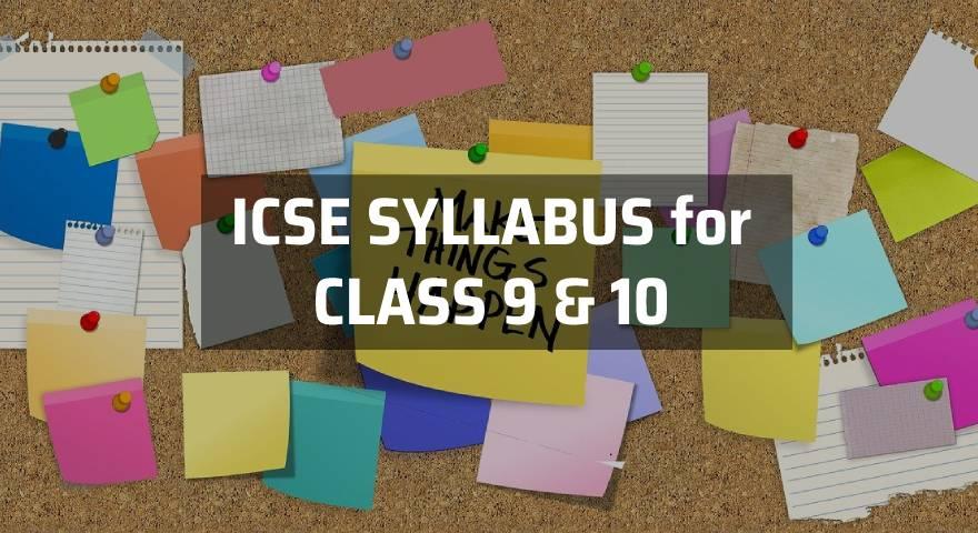ICSE Syllabus Featured Image