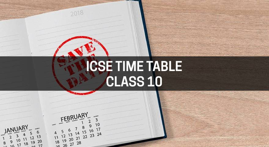 ICSE time table class 10 Featured Image