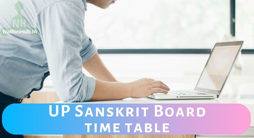 UP Sanskrit Board time table Featured Image