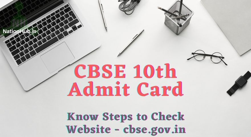 CBSE Class 10 Admit Card Featured Image