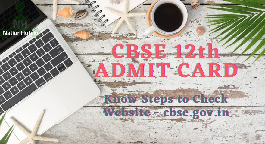 CBSE Class 12 Admit Card Featured Image