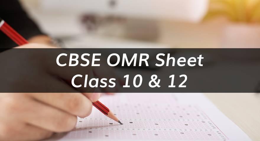CBSE OMR Sheet Featured Image