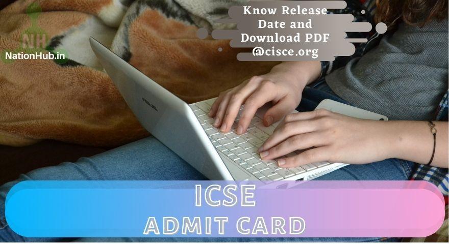 ICSE Admit Card Featured Image