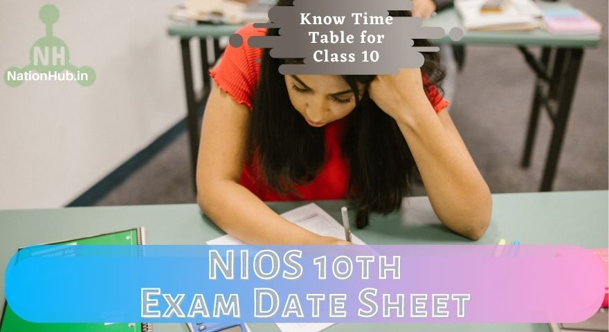 NIOS 10th Date Sheet Featured Image