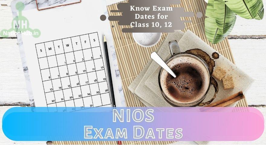 NIOS Exam Date Featured Image