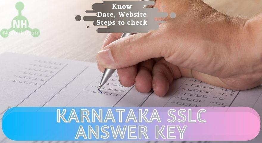 Karnataka SSLC Answer key Featured Image