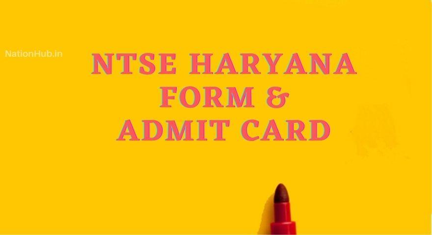 Ntse Haryana Featured Image