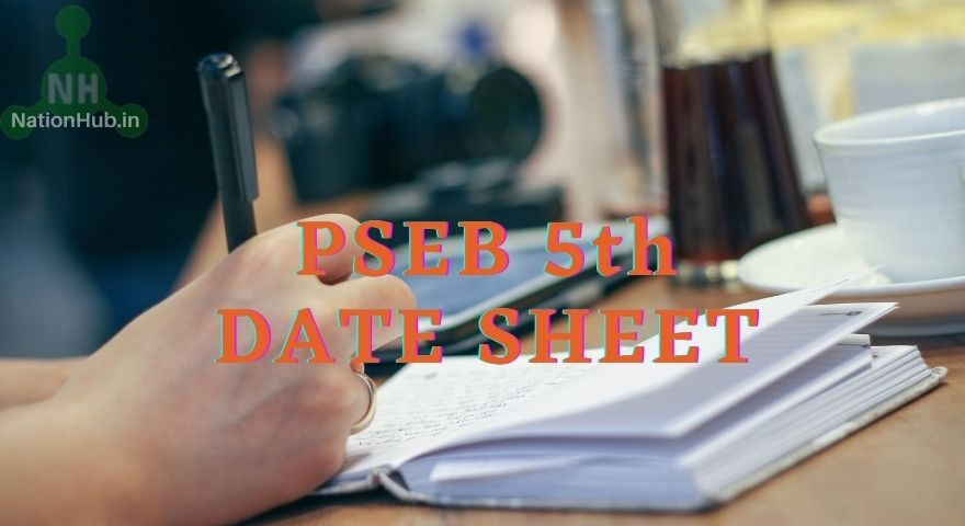 PSEB 5th Date Sheet Featured Image